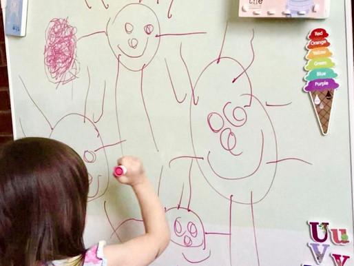 Top Tip Tuesday- wall murals to develop gross motor skills