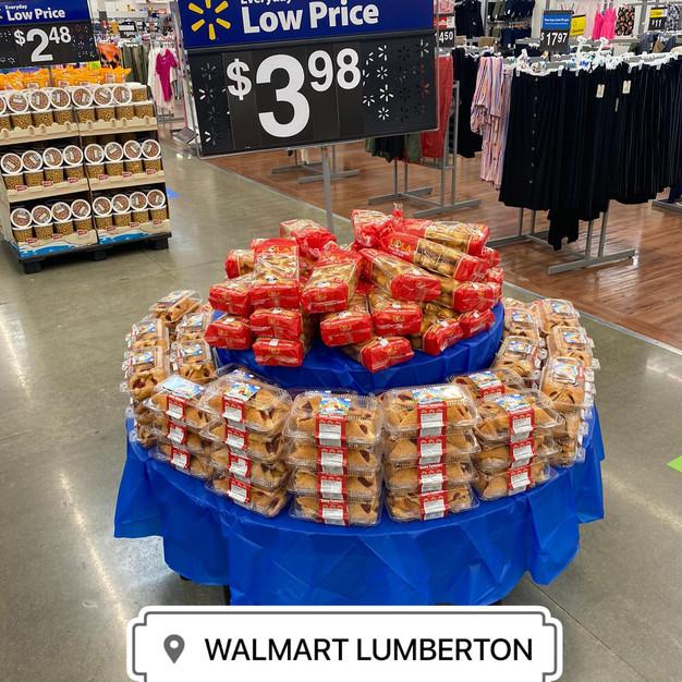 Dona Lola and Ronny Walmart Display