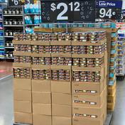 End Cap Display of Del Maximo Tuna at Walmart