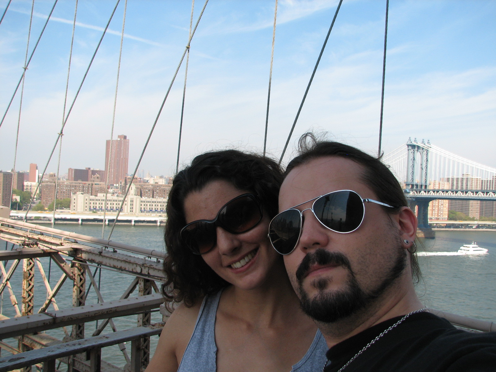 On the Brooklyn Bridge