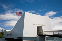 shutterstock_30205072-U.S.S. Arizona Memorial in Pearl Harbor.