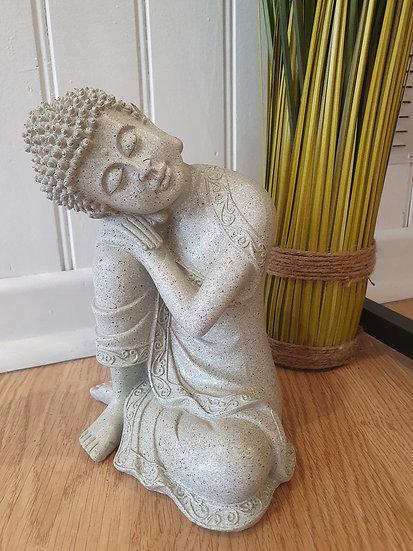 Bouddha Tête penchée 20cm hauteur