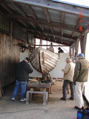 Surfboat keel removal