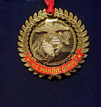US Marine Corps Ornament - Beacon Design