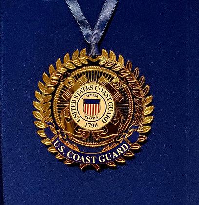US Coast Guard Ornament - Beacon Design