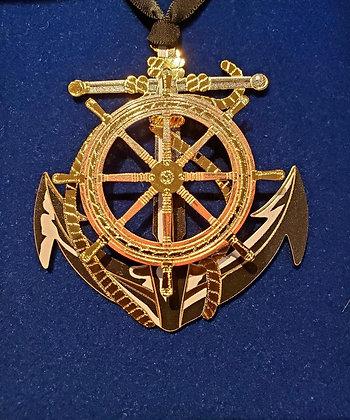 Anchor and Wheel Ornament - Beacon Design