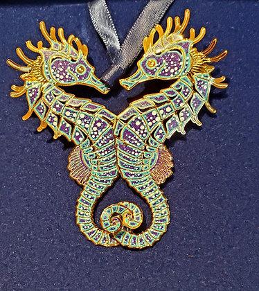 Seahorses Ornament - Beacon Design