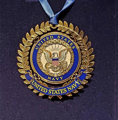 US Navy Ornament - Beacon Design