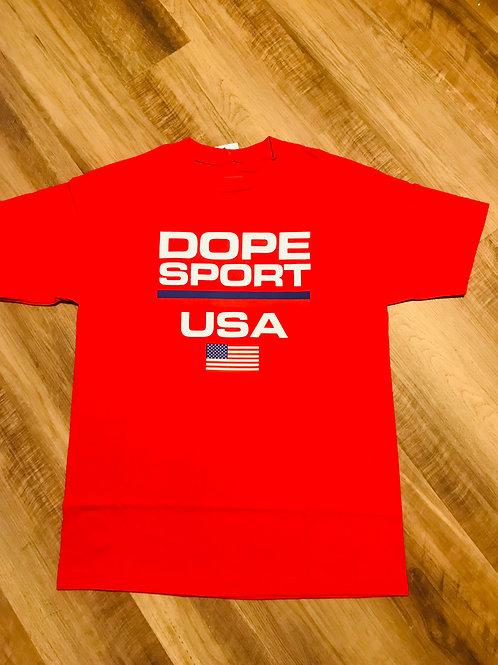 DOPE SPORT USA TEE