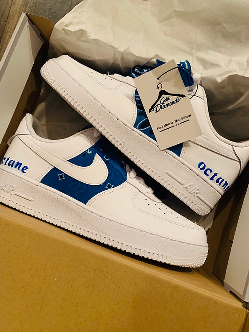 JUST DO IT AF1 & NAME (NIPSEY BLUE)