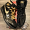 Thumbnail: NIKE AIR JORDAN RETRO 1 BLK & GOLD