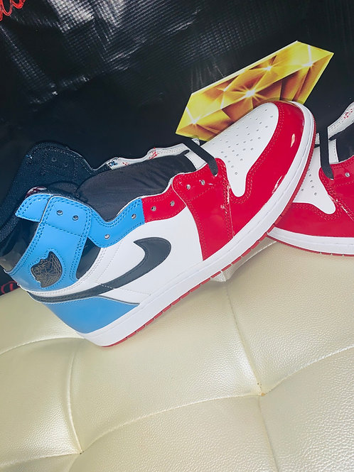 NIKE AIR JORDAN RETRO 1 FEARLESS