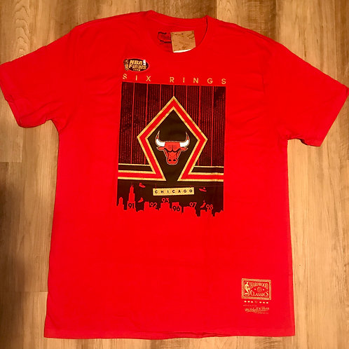 SOUTH SIDE GOLD TEE CHICAGO BULLS
