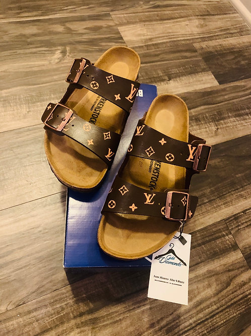 LV CUSTOM BIRKENSTOCKS