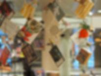 Christmas decorations at the Royal Libra