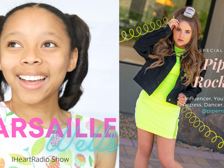 Marsaille Wells - iHeartRadio Show - Guest: Piper Rockelle