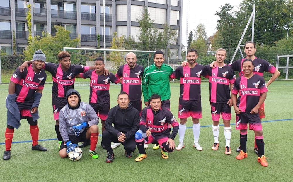 MEISTER: FC Esperanza Zürich Mannschaft B