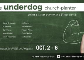 FREE BOOK This Week: The Underdog Church-Planter