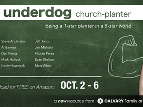 FREE BOOK This Week: The Underdog Church-Planter