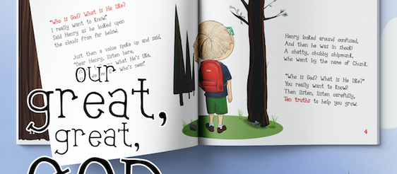 Why I Wrote A Children's Book About God