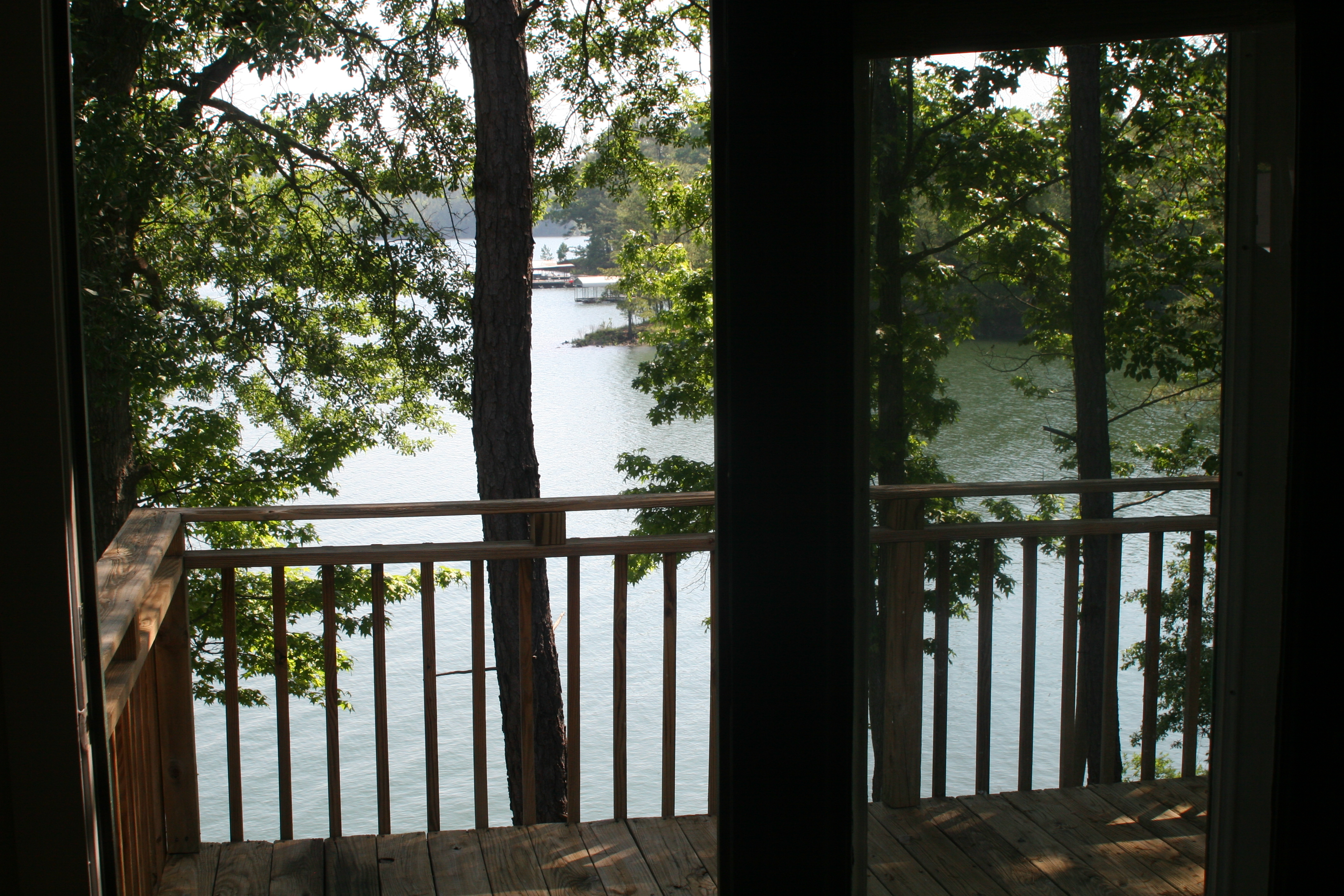 Deck of Cottage #2.