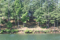 View of Cottage 2 from Tanyard Creek