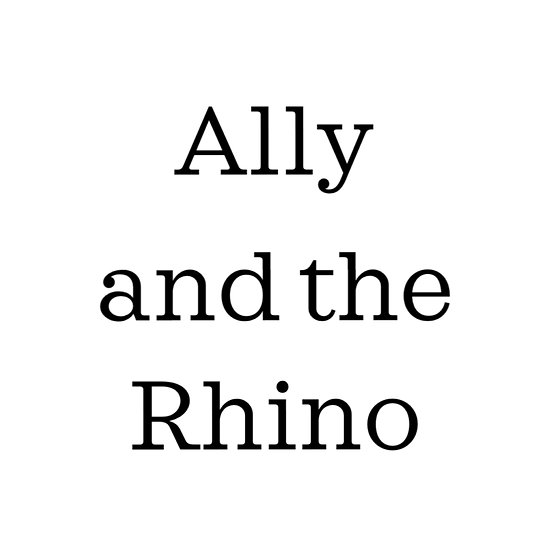Ally and the Rhino