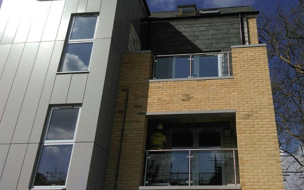 aluminium copings flashings facade