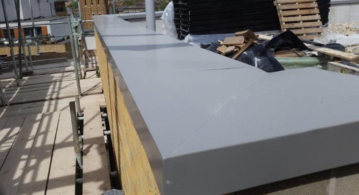 Aluminium PPC copings