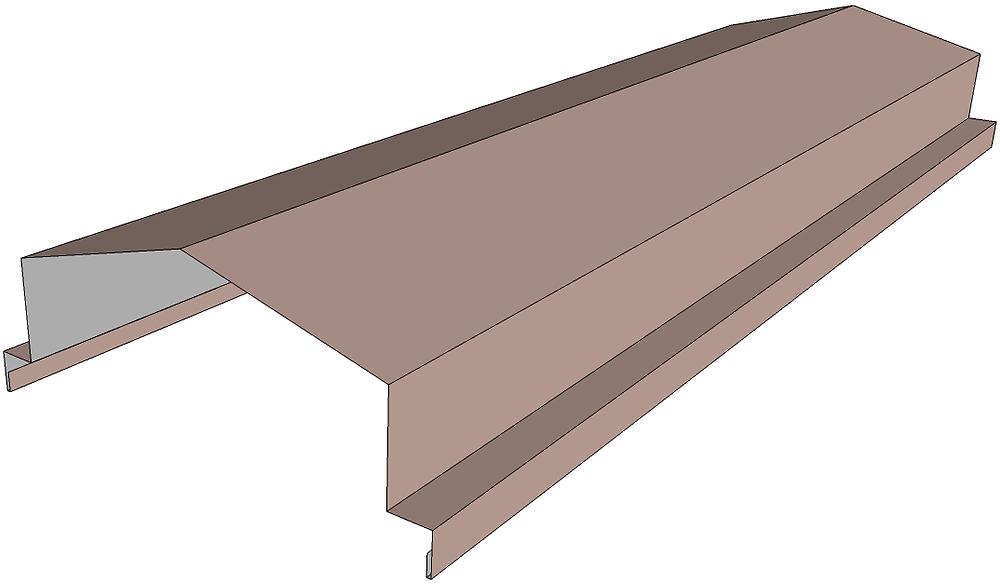 aluminium parapet coping model
