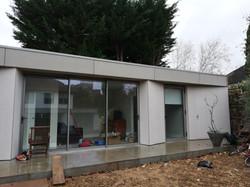 Rainscreen Facade on private home