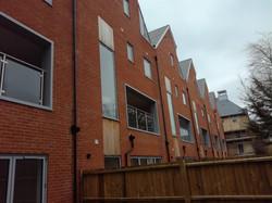 Aluminium facade flashings and trims