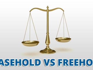 What is Difference between Leasehold and Free Hold properties?