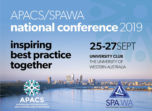 APACS and SPAWA 2019 Conference Banner