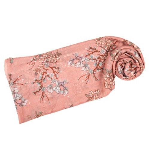 Sakura Scarf Pink