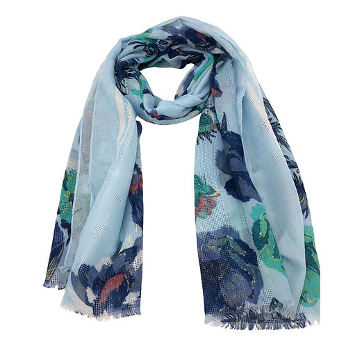 Dancer Scarf Blue