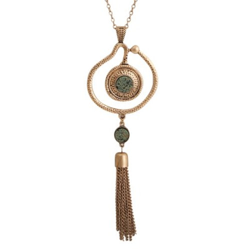 Cassidy Necklace Gold