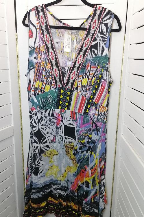 ORIENTIQUE AUSTRALIA stretch knit dress