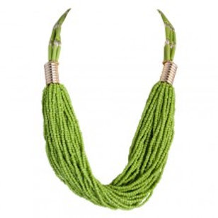 Lli Necklace Green