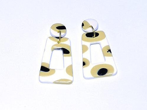 Fire Clay Co Paris  Drop Earrings