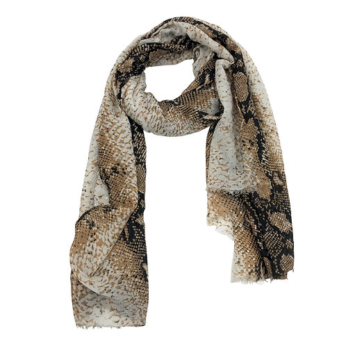 Safari Scarf embossed