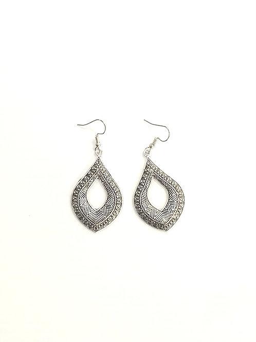 Luxor Earrings Silver