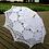 Thumbnail: Adult White cotton parasols HIRE