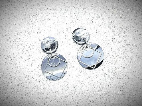 Fire Clay Co Galaxy Drop Earrings
