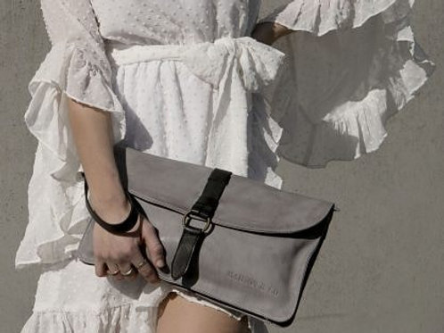 CAMILLE by MAHSON & CO SHOULDER BAG/CLUTCH