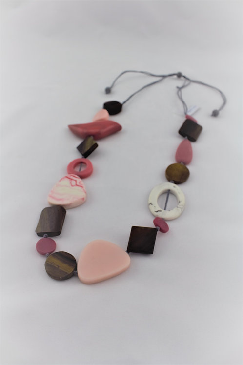Resin & Wood Necklace