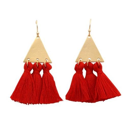 Imi Earrings RED