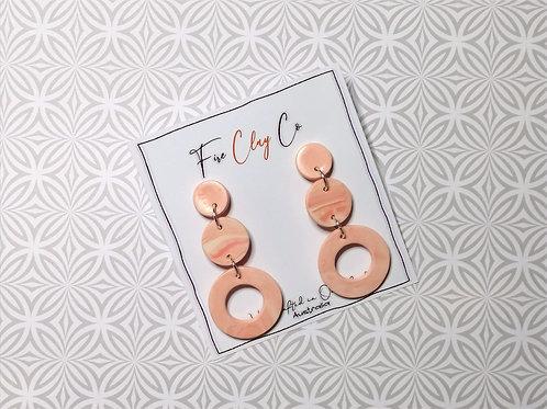 Fire Clay Co Olivia Drop Earrings