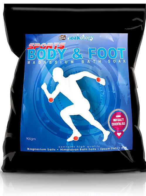 Soakology Magnesium Bath Soak - Sports Body & Foot