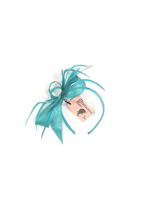 Marlo Fascinator Turquoise